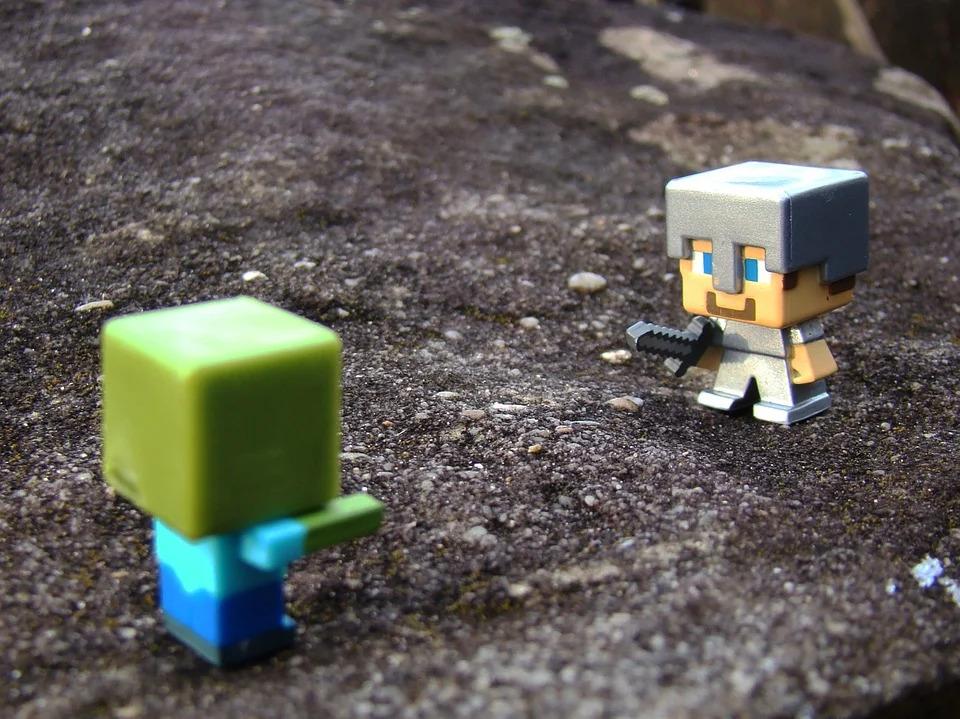 zabawki minecraft